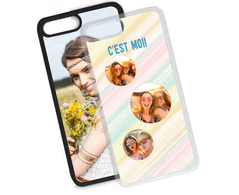 Cover Personalizzata iPhone 7 Plus Silicone