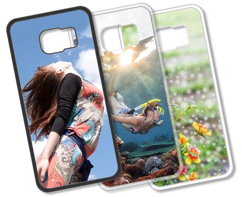 Cover Personalizzate Samsung S6 Edge Silicone