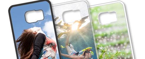 Cover Personalizzate Galaxy S6 Edge Silicone