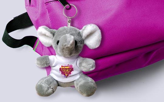Portachiavi Elefantino