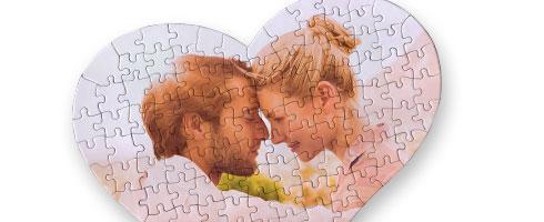 Foto Puzzle Cuore 24x20