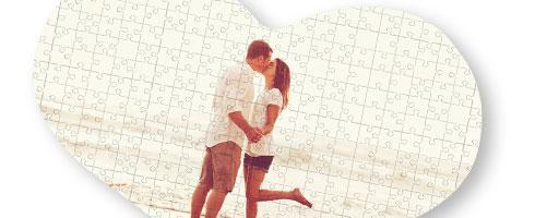 Foto Puzzle Cuore 30x40
