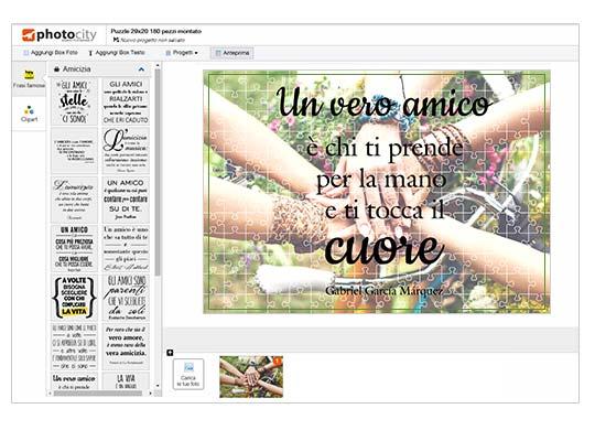 Crea online foto puzzle