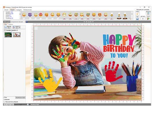 Crea foto puzzle con software gratis