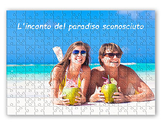Esempio puzzle con foto