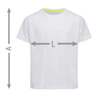misure t-shirt bambino