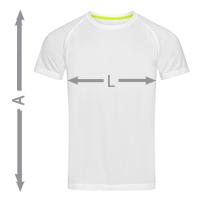 misure t-shirt uomo