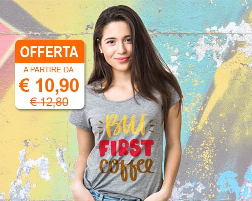 t-shirt personalizzate donna