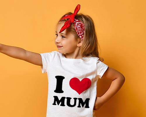 t-shirt personalizzate bambina