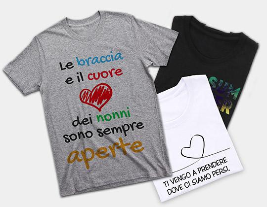 t-shirt personalizzate colori