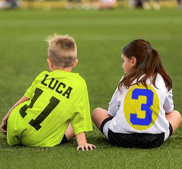 t-shirt sportive bambini