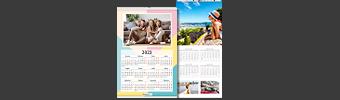 Calendari personalizzati fotografici e fine art