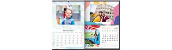 calendari personalizzati inCartha 13 fogli