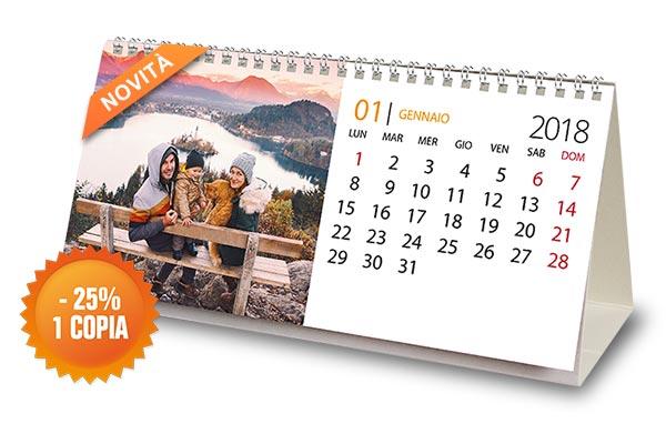 Offerta calendario da tavolo
