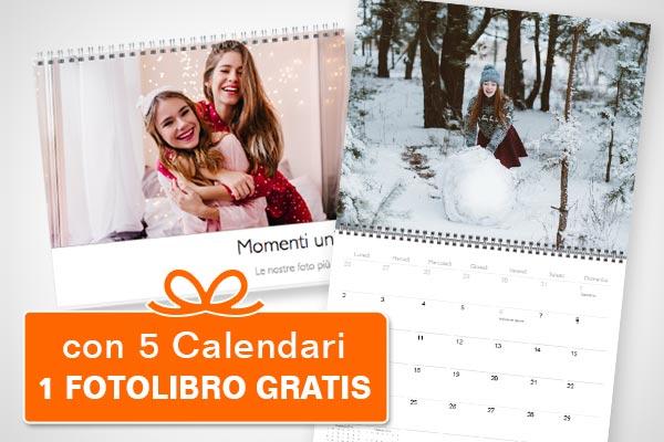 offerta calendario da iPhoto
