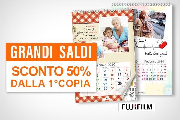 Calendario Saldi 2020.Offerte Calendari Personalizzati Photocity It