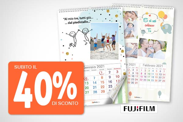 offerta calendario fotografico