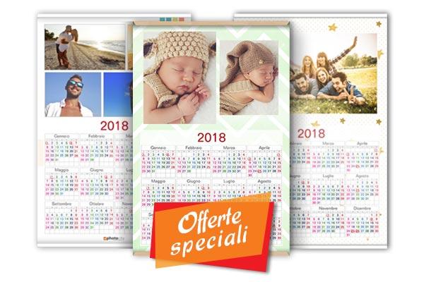 offerta calendario un foglio