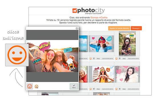 filtri foto personalizzate