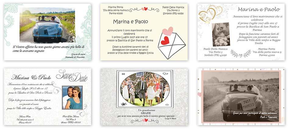 Auguri Matrimonio Gia Conviventi : Crea il tuo biglietto auguri matrimonio