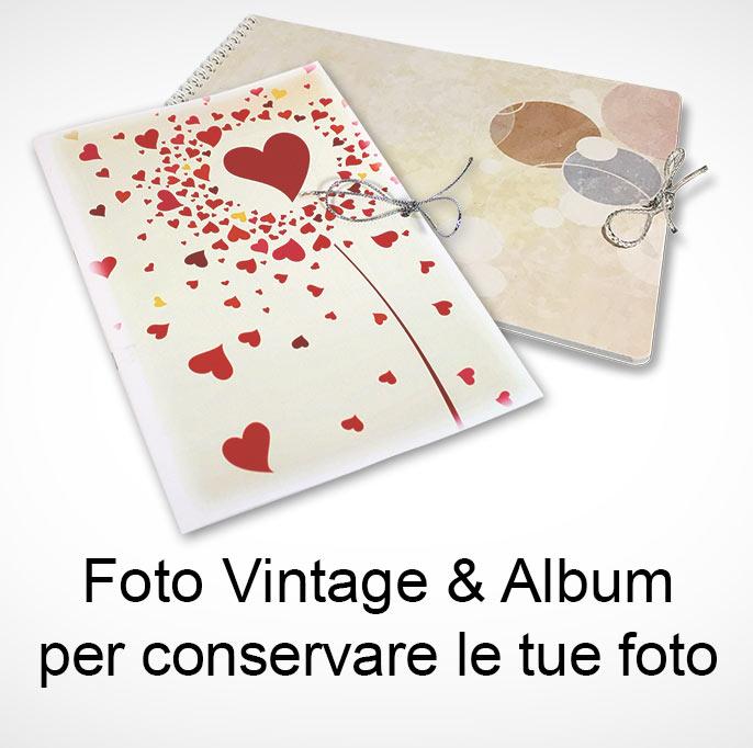 foto vintage con album