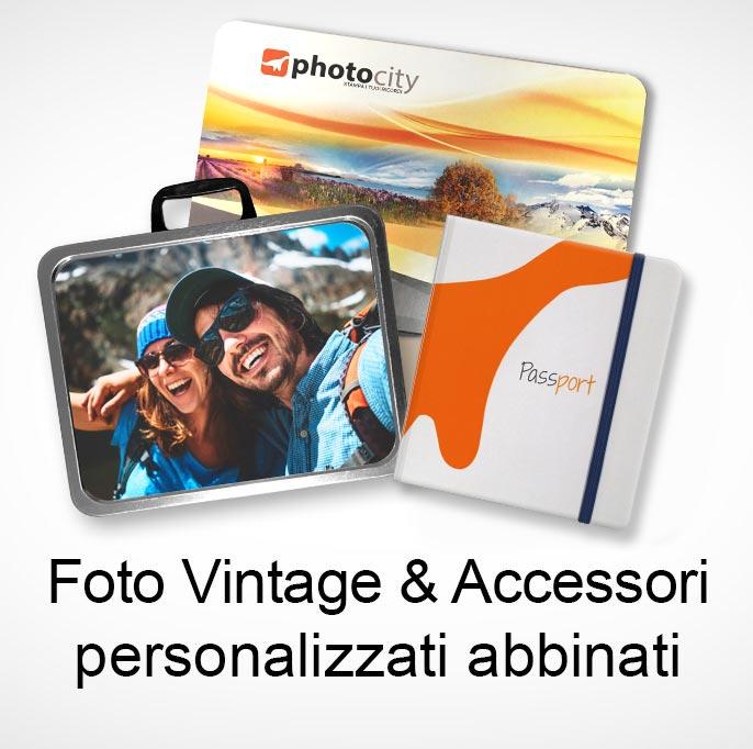 foto vintage con accessori