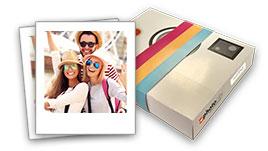 foto vintage e scatola